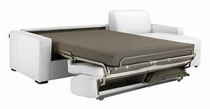 canape lit vrai matelas maison design modanescom With canapé transformable en vrai lit