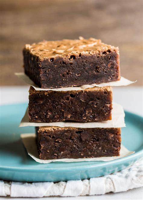fudgy chocolate brownies recipe simplyrecipescom