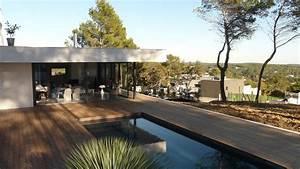 maison individuelle domozoomcom With piscine integree dans terrasse