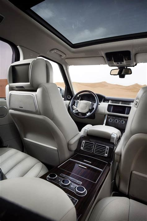 Range Rover Inside by The All New Range Rover Is Revealed Their Most Refined