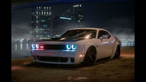 liberty walk challenger  dubai youtube