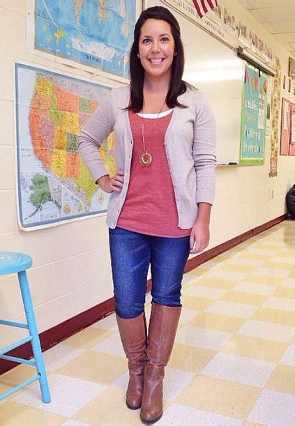 Crafty Teacher Lady 10 Outfit u0026 Style Ideas for Teachers