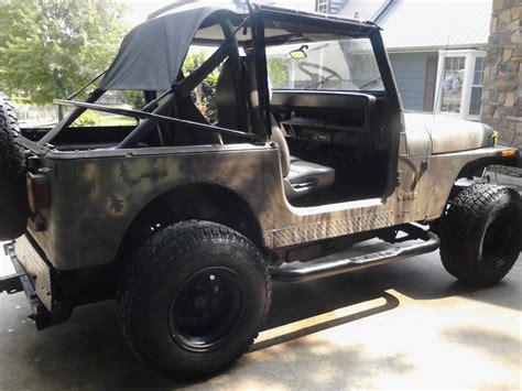 camo jeep yj 1994 jeep yj wrangler sport camo edition for sale