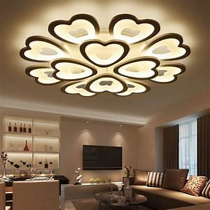 Aliexpresscom buy modern led ceiling lights for living for Modern ceiling lights living room