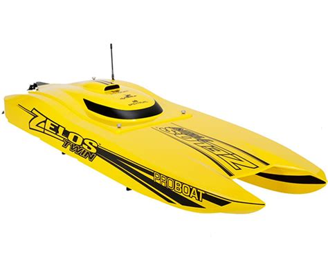 Rc Electric Boats by Pro Boat Zelos 36 Quot Catamaran Rtr Brushless Electric Rc Boat