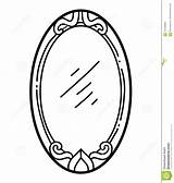 Mirror Coloring Child sketch template