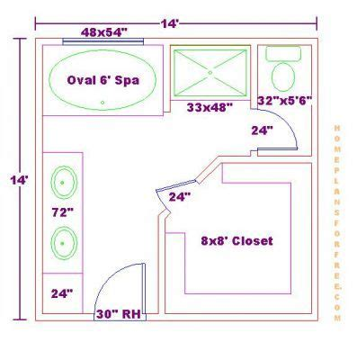 Bathroom Floor Plans With Walk In Closets by Best 25 Master Bathroom Plans Ideas On Master
