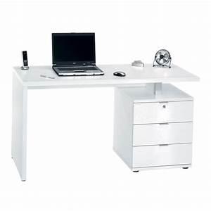 Schreibtisch Mit Schubladen Weiß : schreibtisch hochglanz b rozubeh r ~ Indierocktalk.com Haus und Dekorationen