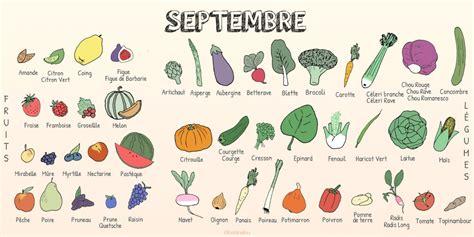 légumes de septembre les fruits et l 233 gumes de septembre fiches pratiques du