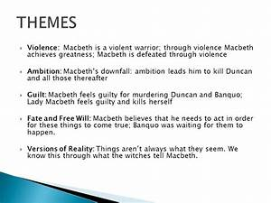 Macbeth Good Vs... Macbeth Banquo Ambition Quotes