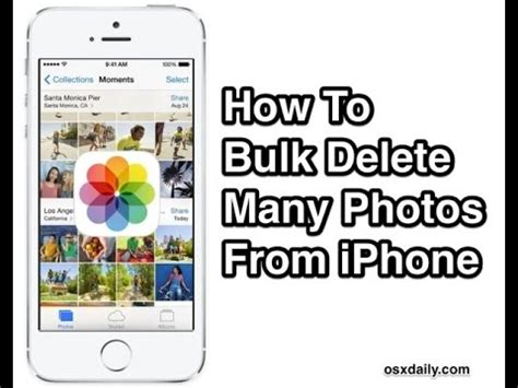 how to mass delete photos from iphone remove many photos on iphone quickly ลบร ปใน iphone คร ง