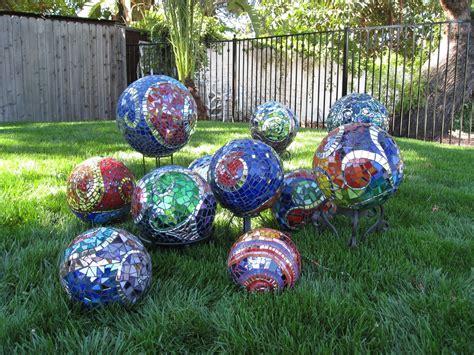spheres for the garden ideas for spectacular diy garden balls garden lovers club