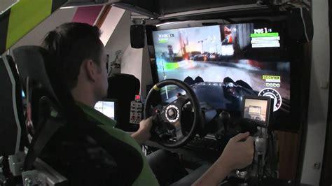 cockpit simulator drift motion race dirt