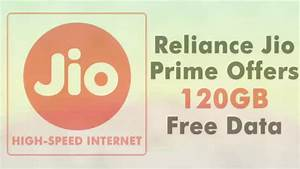 4g & lte Reliance Jio offers 120GB data for one year ...