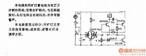 The Alarm Circuit Diagram Of Miner Light