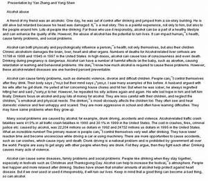 Essay on alcoholism best argument essay topics essay on alcoholism ...