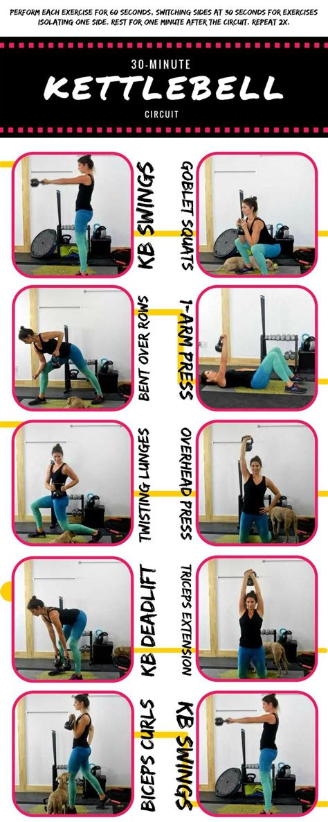 kettlebell circuit body workout minute training results swings kettle bell workouts exercises abs routines routine fitnees fitness kettlebells visit cardio