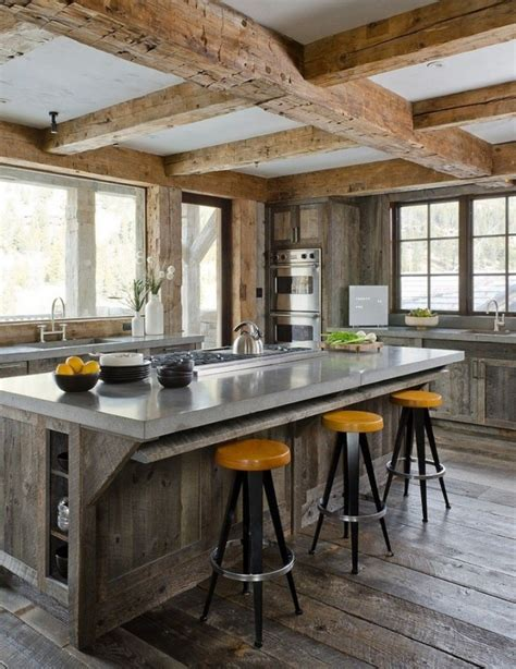 rustic modern kitchen modern rustic kitchen designs