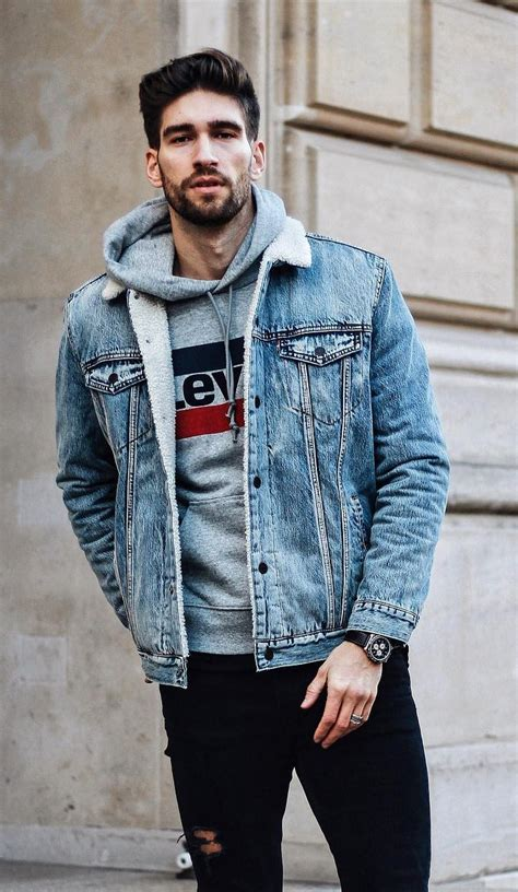 mens casual hoodie blue 13 hoodie styles for the hunks