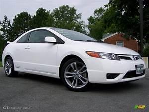 Honda Civic 2008 : 2008 taffeta white honda civic si coupe 32098304 car color galleries ~ Medecine-chirurgie-esthetiques.com Avis de Voitures