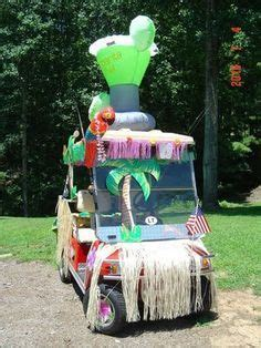 golf cart turned margaritaville partyomg love  golf