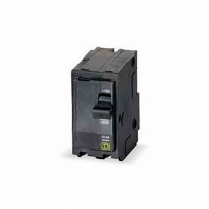 Square D Qo Double Pole Circuit Breaker By Square D At
