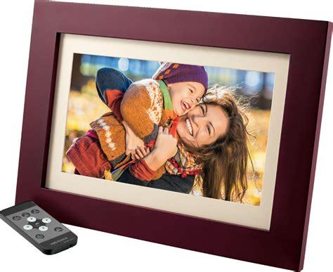 insignia  widescreen lcd digital photo frame espresso