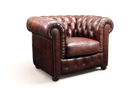 Poltrona Chesterfield Captain : Poltrona Chesterfield Couro