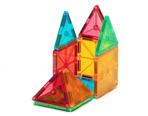 Magna Tiles Clear Colors 100 Set by Magna Tiles 174 Clear Colors 100 Set Magnatiles 174