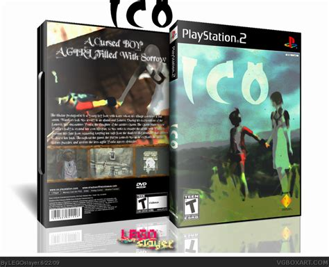 Ico Playstation 2 Box Art Cover By Legoslayer