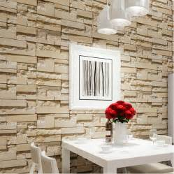 rollo wohnzimmer luxury brick wall 10m vinyl wallpaper roll papel de parede 3d living room background wall