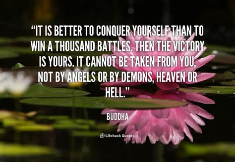 Conquer Yourself Quotes
