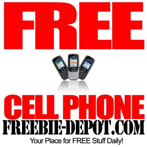 Free Cell Phone + Free Monthly Minutes  Freebie Depot