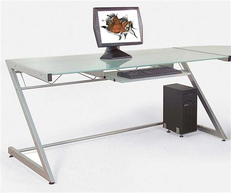 glass desk for sale glass computer desks for sale review and photo