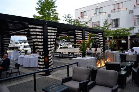 dockside restaurant  granville island hotel