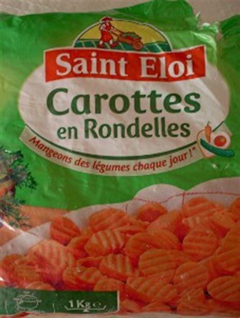 cuisiner des carottes en rondelles carottes en rondelles surgelées st eloi 100g gt calories