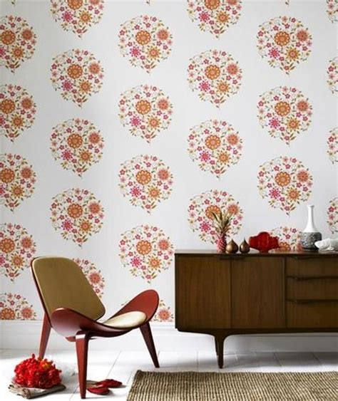 modern retro wallpaper retro wallpaper pattern transforming your room into unique and modern interior in vintage style
