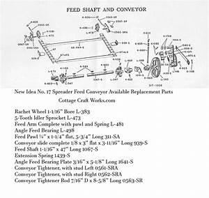 New Idea No  17 Spreader Feed Conveyor Replacement Parts