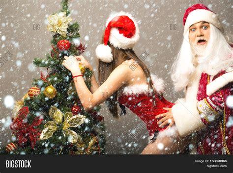 funny santa claus man image photo  trial bigstock