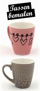 Tassen Bemalen Ideen : tassen bemalen kreative ideen und vorlagen f r das tassen selbst gestalten basteln ~ Yasmunasinghe.com Haus und Dekorationen