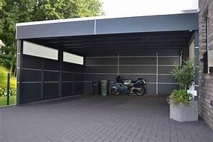 Doppelcarport Mit Abstellraum : doppelcarport mit abstellraum aus hpl platten in schlo ~ Articles-book.com Haus und Dekorationen