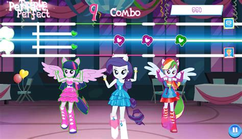 equestria girls mini game    pony gameloft