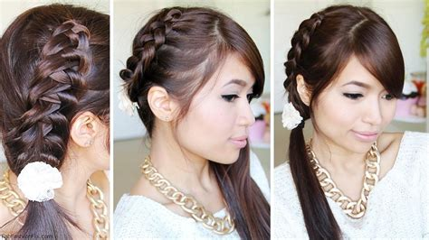chinese staircase braid hairstyle tutorial fab fashion fix