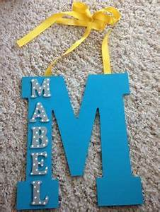 cute diu baby ideas on pinterest wooden letters baby With plastic letters michaels