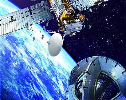 Space Magnetic Junk Tug Derelict Satellites Earth