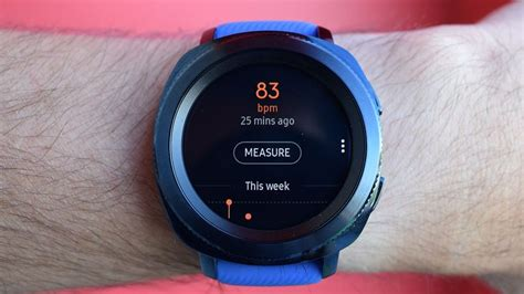 And finally: Samsung's blood pressure-tracking smartwatch