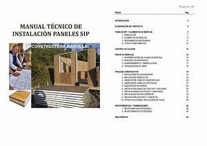 Manual T U00e9cnico De Instalaci U00f3n De Paneles Sip Versi U00f3n