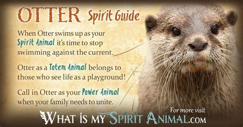 otter symbolism meaning spirit totem power animal