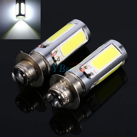white hm  led  motorcycle atv headlight