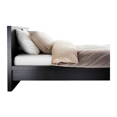 Malm Low Bed Frame by Ikea Malm Black Brown Size Bed Frame Height